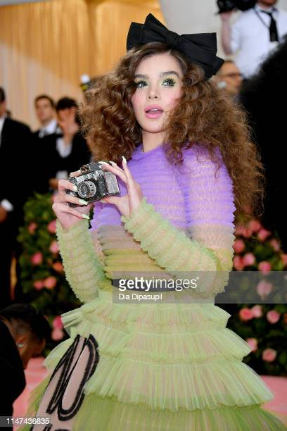 Hailee Steinfeld attends The 2019 Met Gala Celebrating Camp Notes on Fashion at Metropolitan Museum of Art on May 06 2019 in New York City