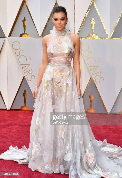 Hailee Steinfeld attends the 89th Annual Academy Awards at Hollywood Highland Center on February 26 2017 in Hollywood California