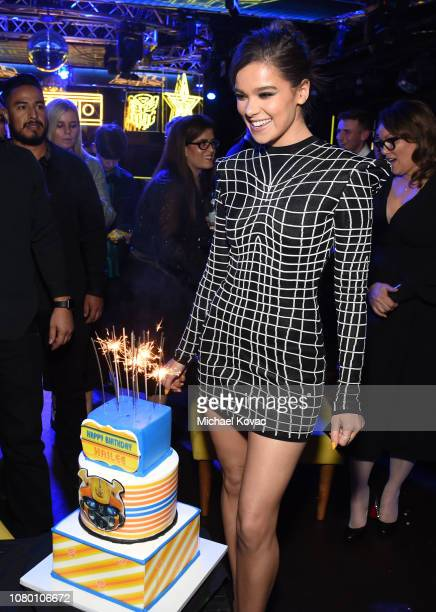 Hailee Steinfeld attends the after party for the global premiere of Paramount Pictures' film 'Bumblebee' on December 09 2018 in Hollywood California