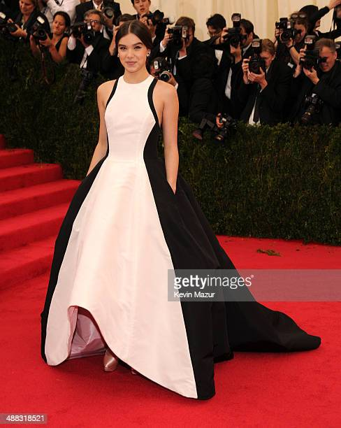 Hailee Steinfeld attends the 'Charles James Beyond Fashion' Costume Institute Gala at the Metropolitan Museum of Art on May 5 2014 in New York City
