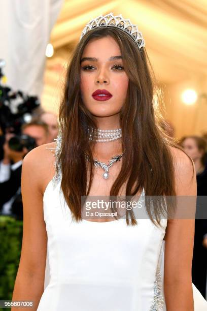 Hailee Steinfeld attends the Heavenly Bodies: Fashion & The Catholic Imagination Costume Institute Gala at The Metropolitan Museum of Art on May 7,...