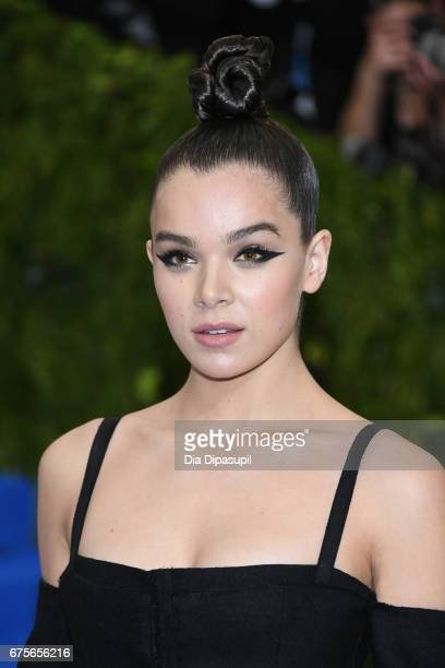 Hailee Steinfeld attends the 'Rei Kawakubo/Comme des Garcons Art Of The InBetween' Costume Institute Gala at Metropolitan Museum of Art on May 1 2017...