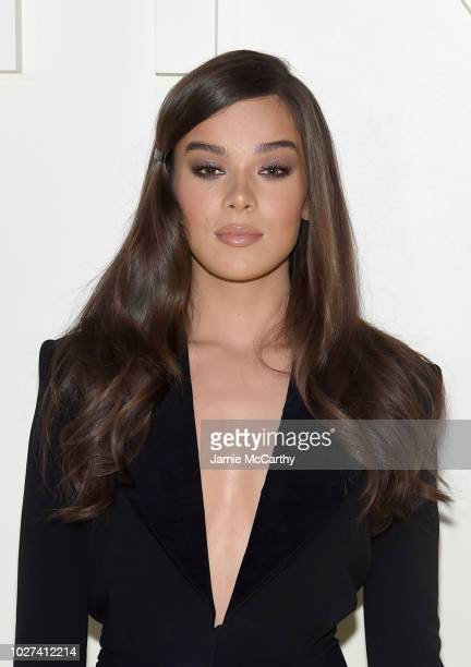 Hailee Steinfeld attends the Tom Ford fashion show during New York Fashion Week at Park Avenue Armory on September 5, 2018 in New York City.