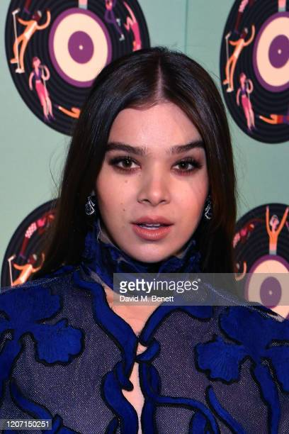 Hailee Steinfeld attends the Universal Music BRIT Awards afterparty 2020 hosted by Soho House PATRÓN at The Ned on February 18 2020 in London England