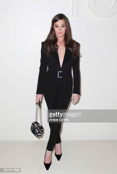Hailee Steinfeld attends Tom Ford SS19 Fashion Show at Park Avenue Armory on September 5, 2018 in New York City.