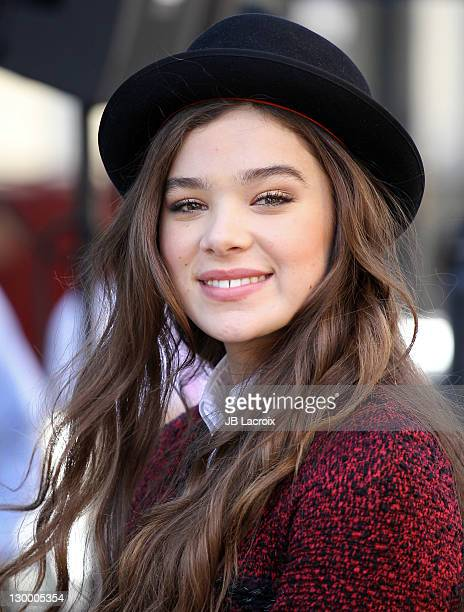 Hailee Steinfeld attends Variety's 5th annual Power Of Youth event presented by The Hub at Paramount Studios on October 22 2011 in Hollywood...