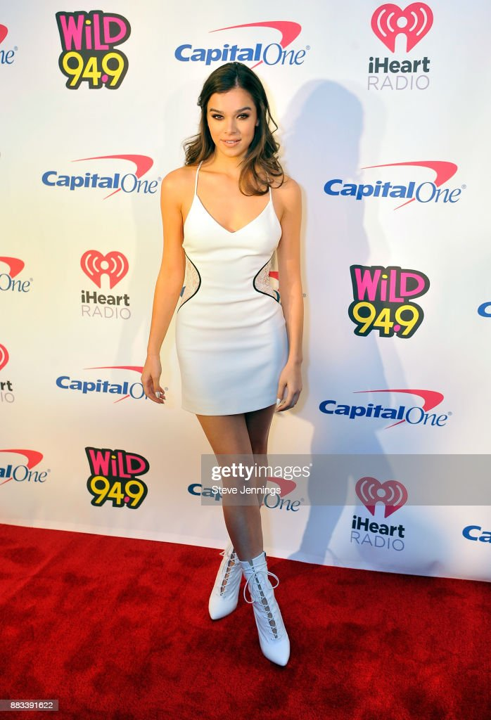 Hailee Steinfeld attends WiLD 94.9's FM's Jingle Ball 2017 Presented by Capital One at SAP Center on November 30, 2017 in San Jose, California.