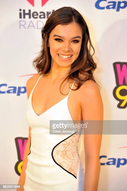 Hailee Steinfeld attends WiLD 949's FM's Jingle Ball 2017 Presented by Capital One at SAP Center on November 30 2017 in San Jose California