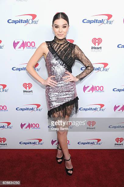 Hailee Steinfeld attends Z100's Jingle Ball 2016 at Madison Square Garden on December 9 2016 in New York City