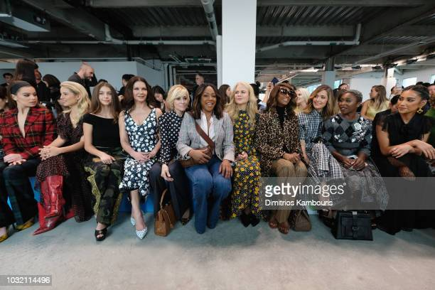 Hailee Steinfeld Diana Argon Carys Zeta Douglas Catherine ZetaJones Judith Light Tiffany Haddish Nicole Kidman Iman Rose Byrne Cynthia Erivo and Shay...
