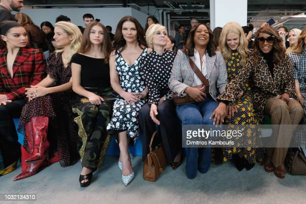 Hailee Steinfeld Diana Argon Carys Zeta Douglas Catherine ZetaJones Judith Light Tiffany Haddish Nicole Kidman and Iman attend the Michael Kors...
