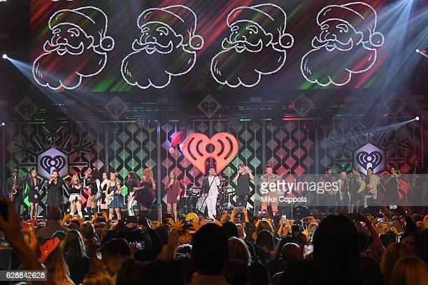 Hailee Steinfeld Fifth Harmony JinJoo Lee Daya Joe Jonas Charlie Puth Cole Whittle Jake Miller Sabrina Carpenter Rita Ora and Tinashe perform onstage...