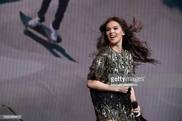 Hailee Steinfeld performs at Radio City Music Hall on July 16, 2018 in New York City.