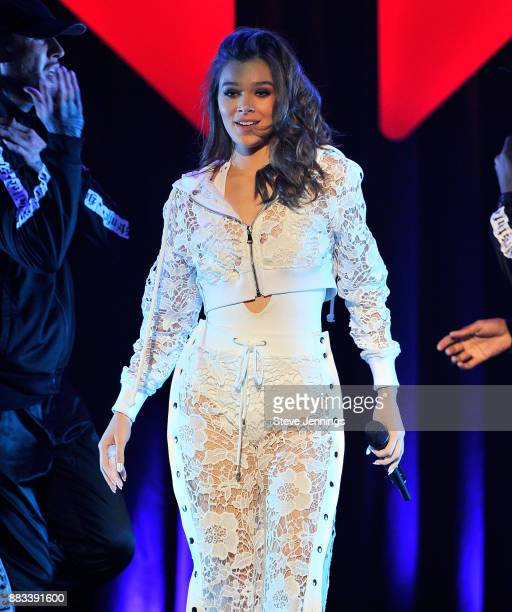 Hailee Steinfeld performs onstage at WiLD 949's FM's Jingle Ball 2017 Presented by Capital One at SAP Center on November 30 2017 in San Jose...