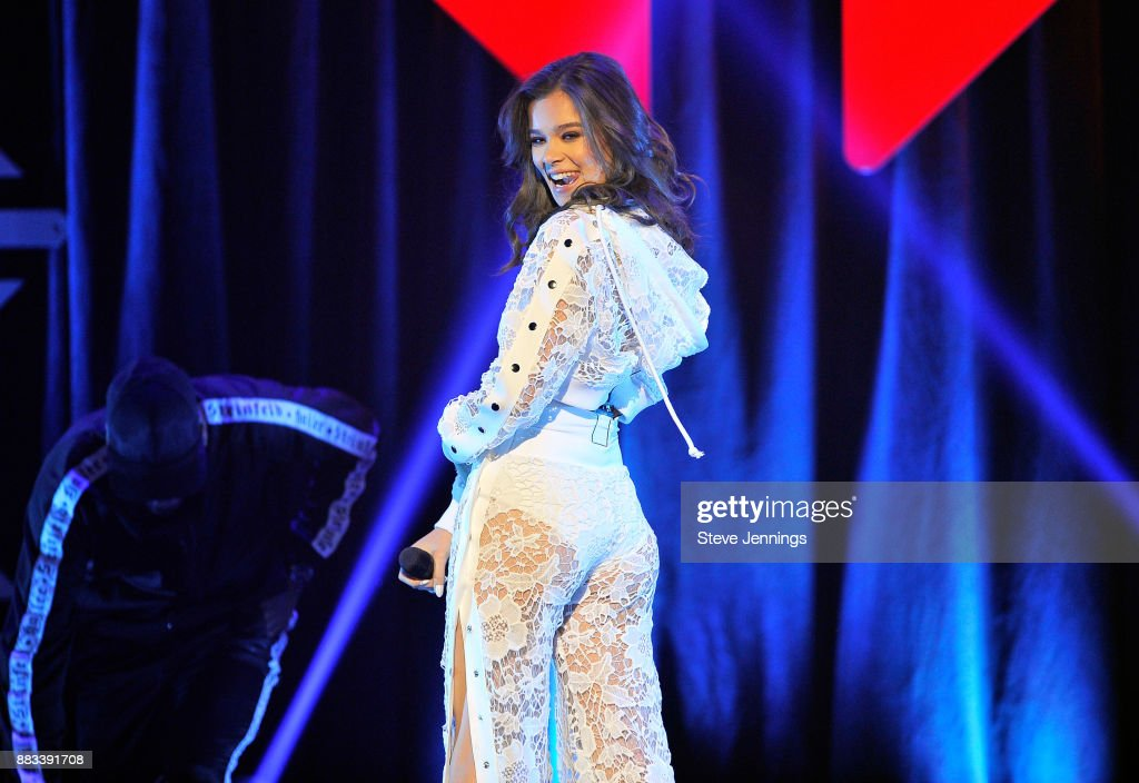 Hailee Steinfeld performs onstage at WiLD 94.9's FM's Jingle Ball 2017 Presented by Capital One at SAP Center on November 30, 2017 in San Jose, California.
