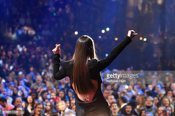 Hailee Steinfeld performs onstage during Z100's Jingle Ball 2016 at Madison Square Garden on December 9 2016 in New York New York