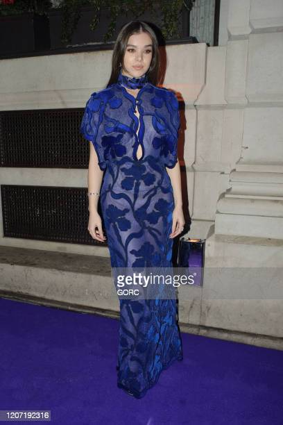 Hailee Steinfeld seen attending the BRIT Awards 2020 Universal afterparty at the Ned hotel on February 18 2020 in London England