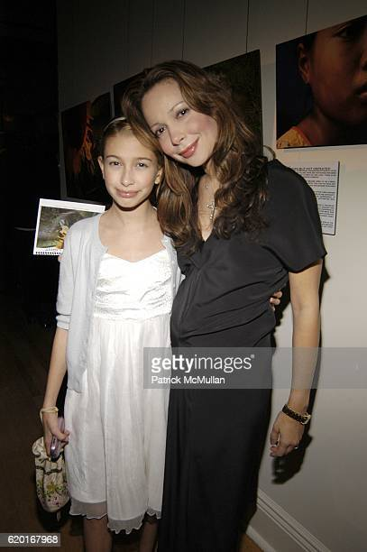 Hailey Baldwin and Kennya Baldwin attend Baume Mercier and Love146 Fund Raiser at Helen Mills Event Space on November 20 2008 in New York City
