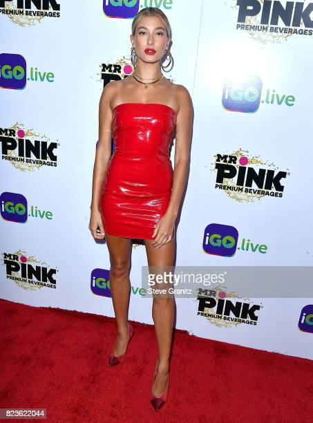 Hailey Baldwin arrives at the iGolive Launch Event at the Beverly Wilshire Four Seasons Hotel on July 26 2017 in Beverly Hills California