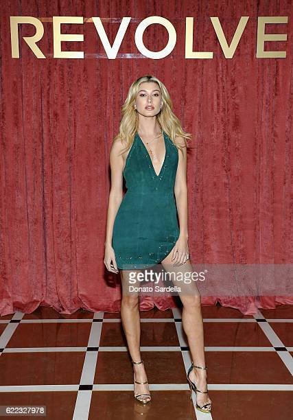 Hailey Baldwin attends REVOLVE Winter Formal 2016 on November 10 2016 in Los Angeles California