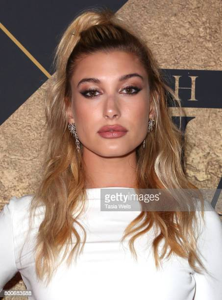 Hailey Baldwin attends the 2017 MAXIM Hot 100 Party at Hollywood Palladium on June 24 2017 in Los Angeles California