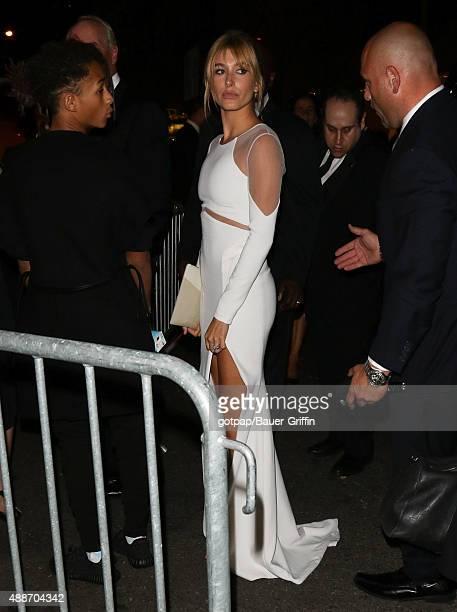 Hailey Baldwin is seen on September 16 2015 in New York City