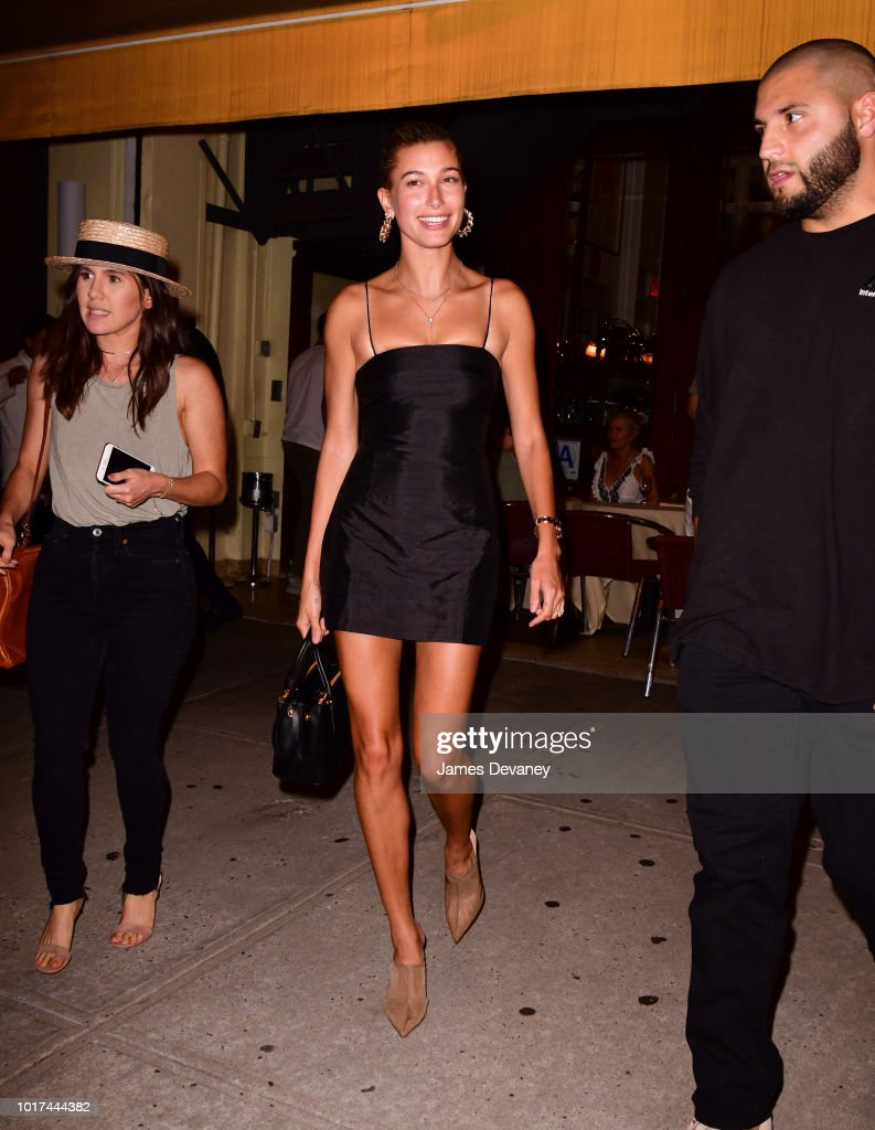 Celebrity Sightings in New York City - August 15, 2018
