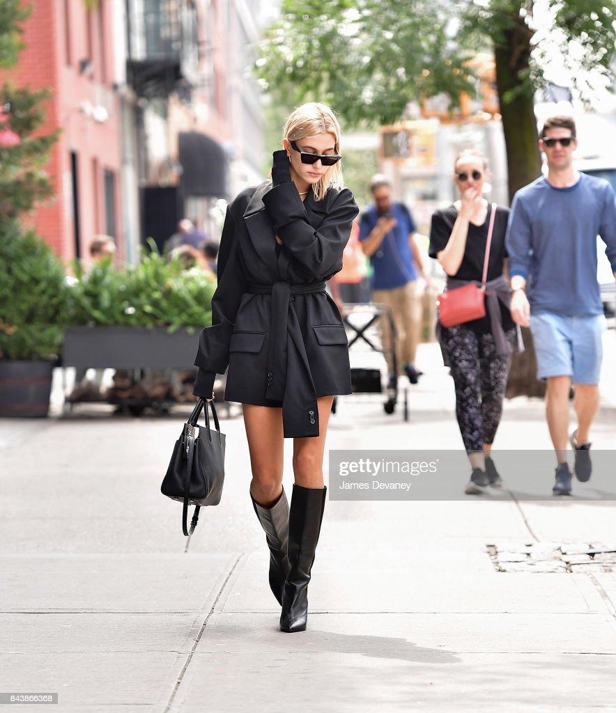 e74e49e94241 Hailey Baldwin seen on the streets of Manhattan on September 7