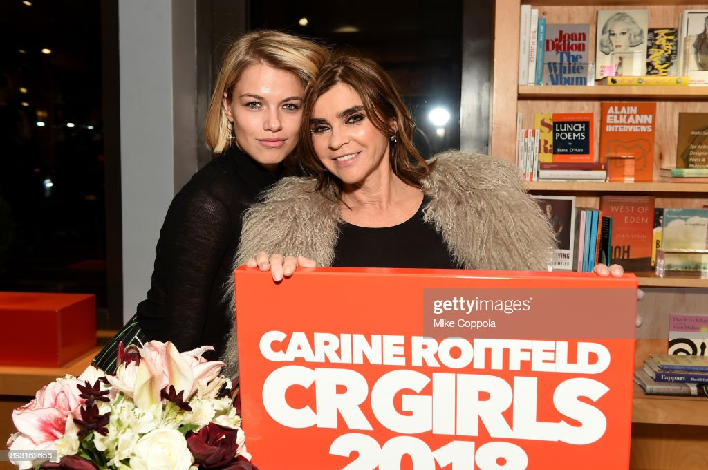 Carine Roitfeld Celebrates CR Girls 2018 At Bookmarc