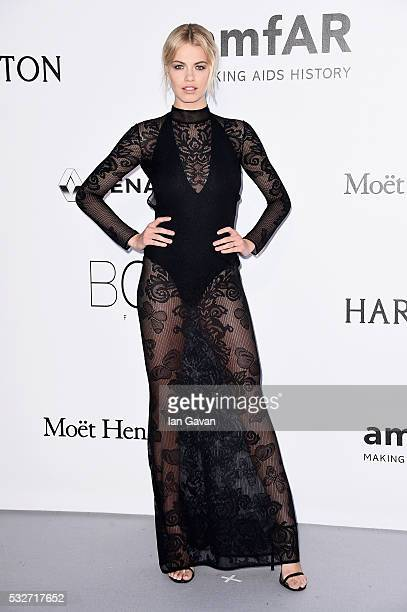 Hailey Clauson arrives at amfAR's 23rd Cinema Against AIDS Gala at Hotel du CapEdenRoc on May 19 2016 in Cap d'Antibes France
