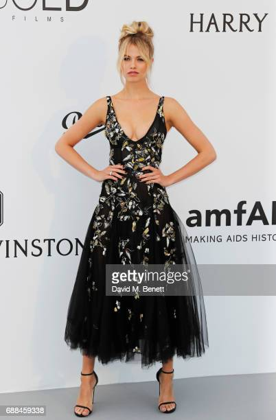 Hailey Clauson arrives at the amfAR Gala Cannes 2017 at Hotel du CapEdenRoc on May 25 2017 in Cap d'Antibes France