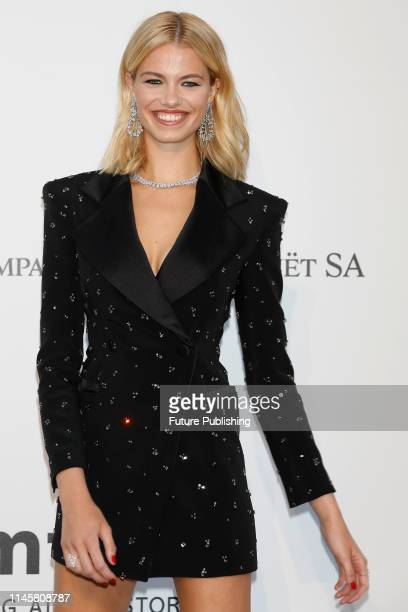 Hailey Clauson at the amfAR Cannes Gala 2019 at Hotel du CapEdenRoc on May 23 2019 in Cap d'Antibes France