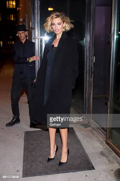 Hailey Clauson attends CR Girls 2018 with Technogym at Spring Studios in Tribeca on December 12 2017 in New York City