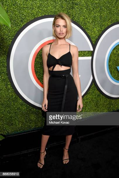 Hailey Clauson attends the 2017 GQ Men of the Year party at Chateau Marmont on December 7 2017 in Los Angeles California
