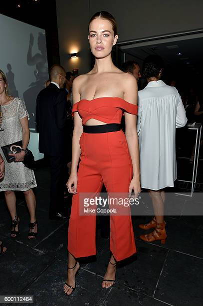 Hailey Clauson attends the Cartier Fifth Avenue Grand Reopening Event at the Cartier Mansion on September 7 2016 in New York City