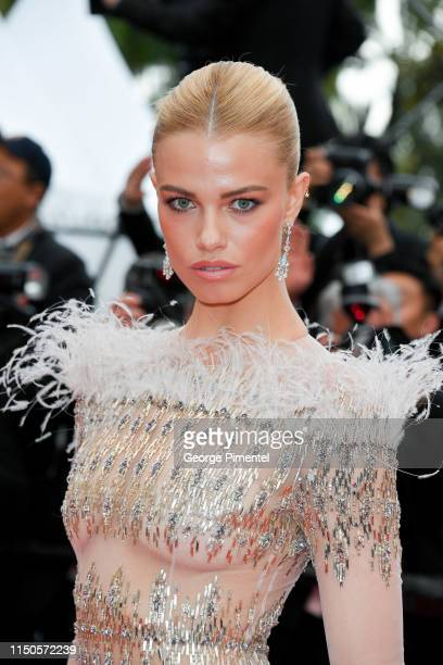 Hailey Clauson attends the screening of Le Belle Epoque during the 72nd annual Cannes Film Festival on May 20 2019 in Cannes France