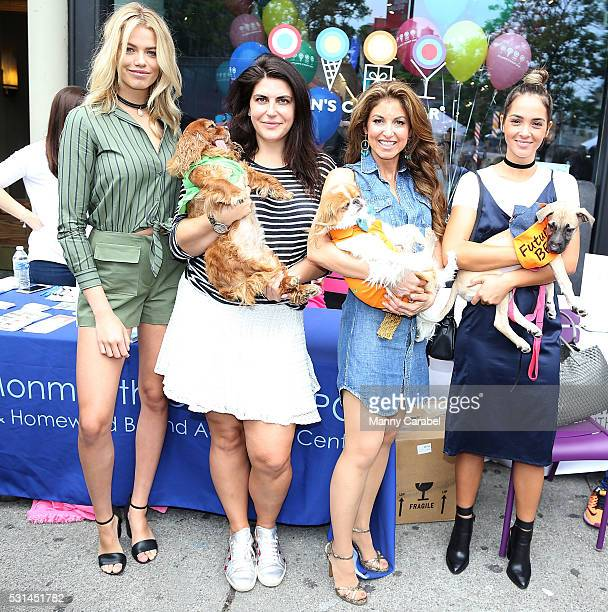 Hailey Clauson Toast Meets World Dylan Lauren and Aisha Jade attend a Dog Adoption Event hosted by the Monmouth County SPCA and Animal Lighthouse...