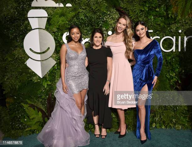 Hailey Colborn Susannah Schaefer Olivia Jordan and Pia Wurtzbac attend Smile Train's 20th Anniversary Gala at Capitale on May 02 2019 in New York City