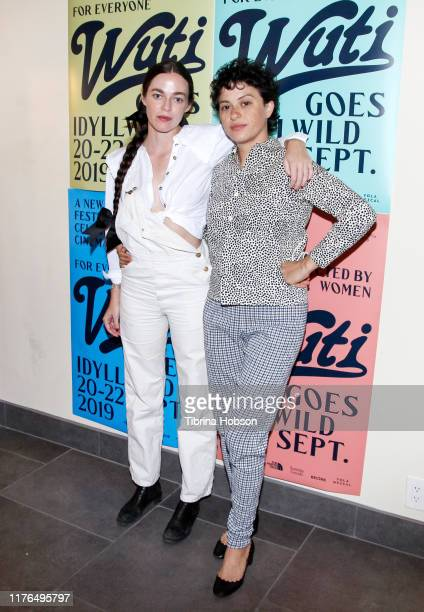 Hailey Gates and Alia Shawkat attend the WUTI Goes IdyllWILD, Women Under The Influence Film Festival on September 22, 2019 in Idyllwild, California.