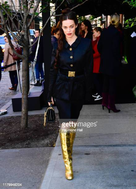 Hailey Gates at Tribeca Chanel Women's Filmmaker Luncheon on November 4, 2019 in New York City.