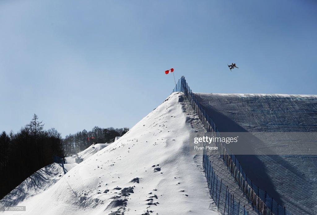Hailey Langland of USA competes in the Snowboard Ladies' Slopestyle Final on day three of the PyeongChang 2018 Winter Olympic Games at Phoenix Snow Park on February 12, 2018 in Pyeongchang-gun, South Korea.