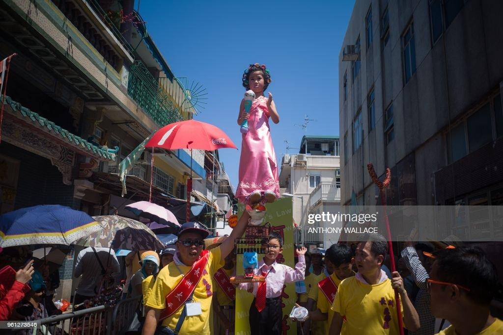 HONG KONG-TRADITION-FESTIVAL-CULTURE : News Photo