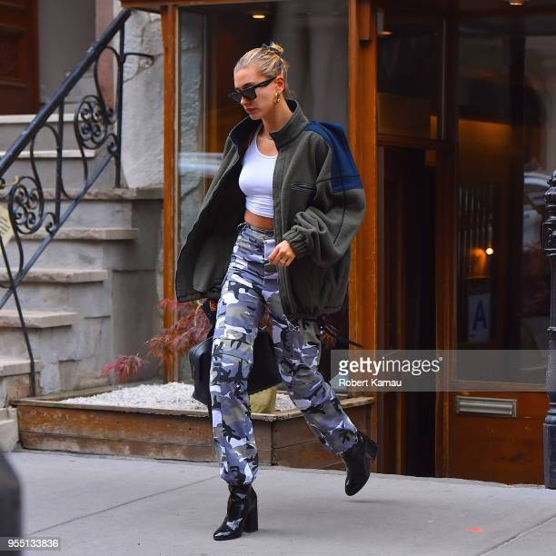 Hailey Rhode Baldwin seen out and about in Manhattan on May 5 2018 in New York City