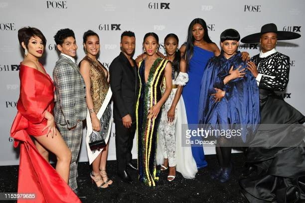 Hailie Sahar Angel Bismark Curiel Indya Moore Dyllón Burnside Mj Rodriguez Angelica Ross Dominique Jackson Ryan Jamaal Swain and Billy Porter attend...
