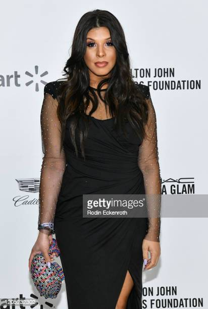 Hailie Sahar attends the 28th Annual Elton John AIDS Foundation Academy Awards Viewing Party Sponsored By IMDb And Neuro Drinks on February 09 2020...