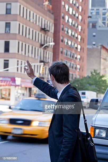 hailing cab