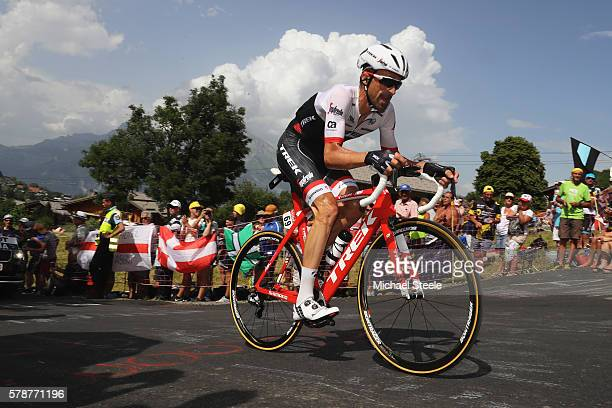 Haimar Zubeldia of Spain and TrekSegafredo during the 17km Individual Time Trial stage eighteen of Le Tour de France from Sallanches to Megeve on...