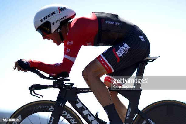Haimar Zubeldia of Spain riding for TrekSegafredo rides during stage five of the AMGEN Tour of California from Ontario to Mt Baldy on May 18 2017 in...