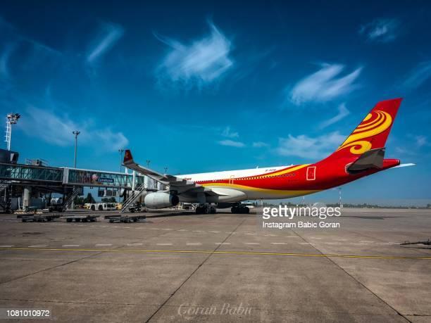 Hainan airlines on Belgrade airport