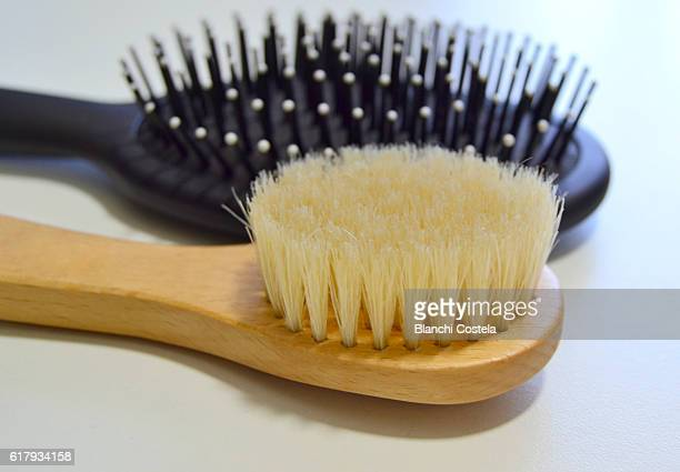 Hair and face brushes